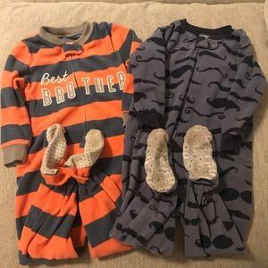 Footed Pajamas Bundle 2T